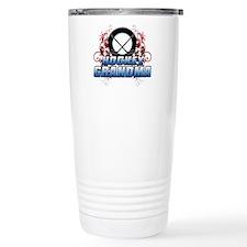 Hockey Grandma (cross).png Travel Mug