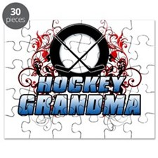 Hockey Grandma (cross).png Puzzle