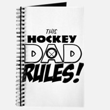 This Hockey Dad Rules.png Journal