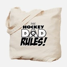 This Hockey Dad Rules.png Tote Bag
