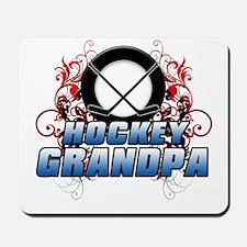 Hockey Grandpa (cross).png Mousepad