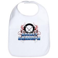 Hockey Grandpa (cross).png Bib