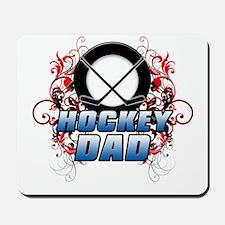 Hockey Dad (cross) copy.png Mousepad