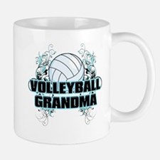 Volleyball Grandma (cross).png Mug