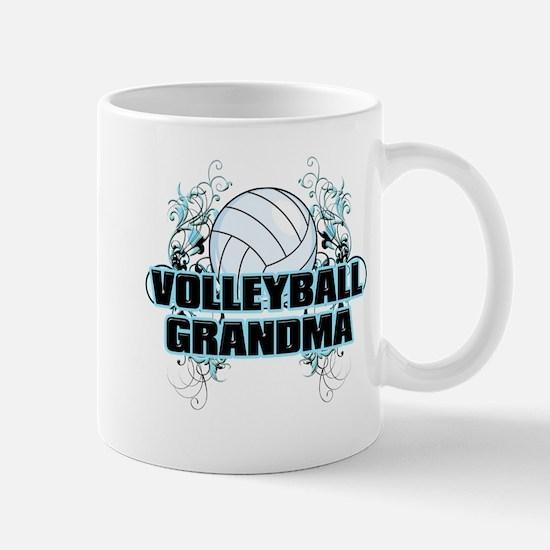 Volleyball Grandma (cross).png Mug
