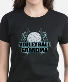 Volleyball Grandma (cross).png Tee