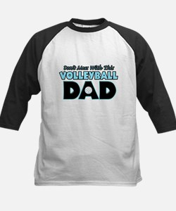 Dont Mess With This Volleyball Dad copy.png Tee