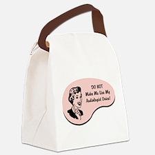Unique Sound Canvas Lunch Bag