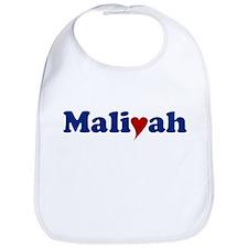 Maliyah with Heart Bib