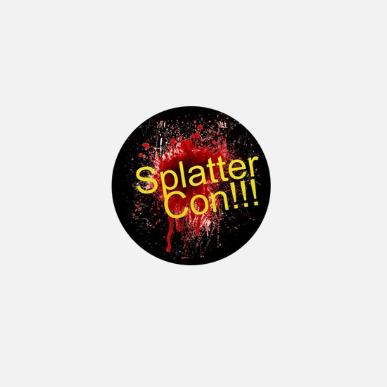 Splatter Con!!! Mini Button