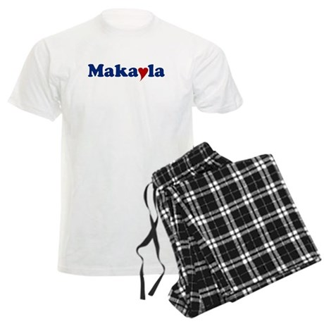 Makayla with Heart Men's Light Pajamas