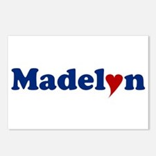 Madelyn with Heart Postcards (Package of 8)