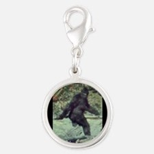 Have You Seen BIGFOOT? Silver Round Charm