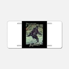 Have You Seen BIGFOOT? Aluminum License Plate