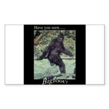 Have You Seen BIGFOOT? Decal
