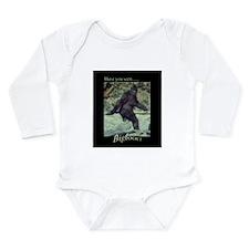 Have You Seen BIGFOOT? Long Sleeve Infant Bodysuit