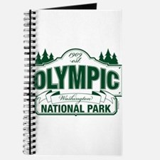 Olympic National Park Green Sign Journal