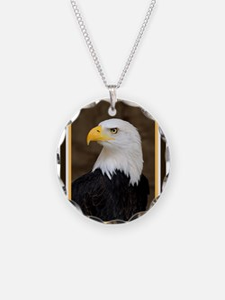 American Bald Eagle Necklace