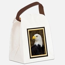American Bald Eagle Canvas Lunch Bag