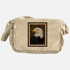 American Bald Eagle Messenger Bag