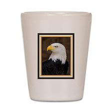 American Bald Eagle Shot Glass