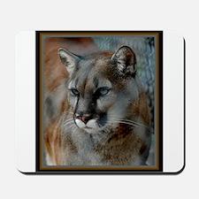 Cougar Cat Mousepad