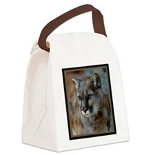 Cougar Cat Canvas Lunch Bag