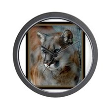 Cougar Cat Wall Clock