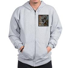 Cougar Cat Zip Hoodie