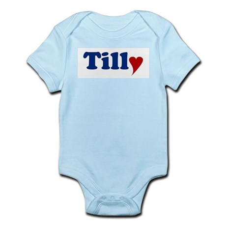 Tilly with Heart Infant Bodysuit