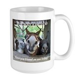 Donkey Large Mugs (15 oz)