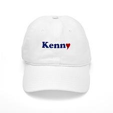 Kenny with Heart Baseball Cap