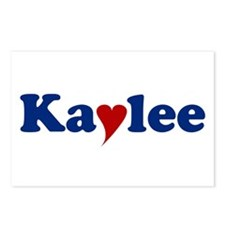 Kaylee with Heart Postcards (Package of 8)