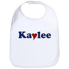 Kaylee with Heart Bib