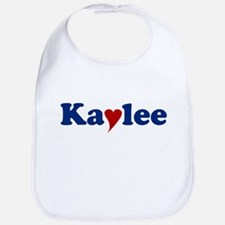 Kaylee with Heart Bib