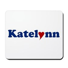 Katelynn with Heart Mousepad
