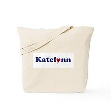 Katelynn with Heart Tote Bag