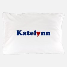 Katelynn with Heart Pillow Case