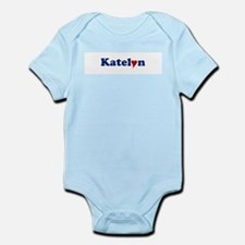 Katelyn with Heart Infant Bodysuit