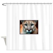 Cougar Shower Curtain