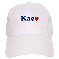 Kacy with Heart Baseball Cap