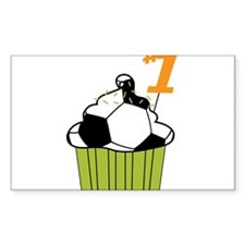 Soccer Cupcake Decal