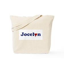 Jocelyn with Heart Tote Bag