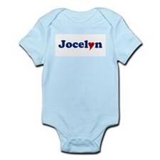 Jocelyn with Heart Infant Bodysuit