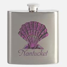 Nantucket Scallop Shell Flask