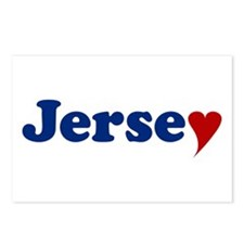 Jersey with Heart Postcards (Package of 8)