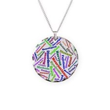 Brain Cloud1 Necklace