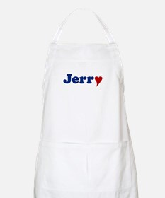 Jerry with Heart Apron
