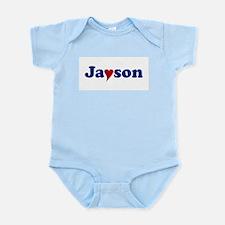 Jayson with Heart Infant Bodysuit