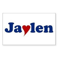 Jaylen with Heart Decal